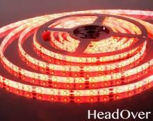 Светодиодная лента Elektrostandard 3528/60 LED 4.8W IP65 [белая подложка] красный свет