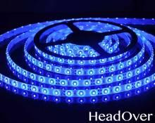 Светодиодная лента Elektrostandard 3528/60 LED 4.8W IP65 [белая подложка] синий свет